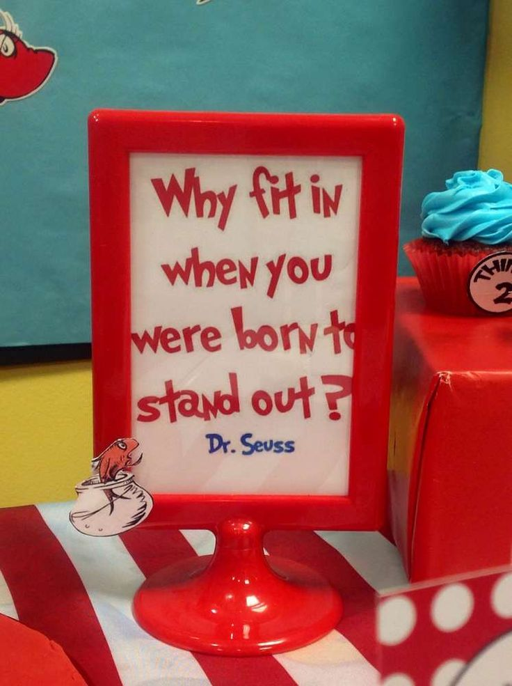 Dr Seuss Birthday Party Ideas | Photo 1 of 22 | Catch My Party