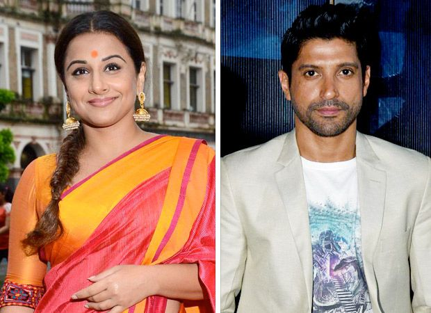Vidya Balan and her father to join hands with Farhan Akhtar - Bollywood Hungama #FansnStars