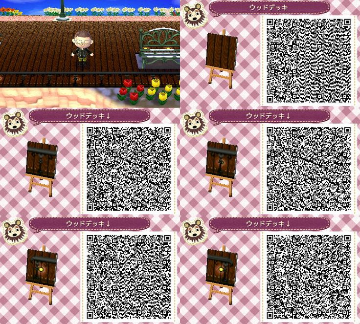 262 best acnl not clothing images on pinterest qr codes for Floor qr codes new leaf
