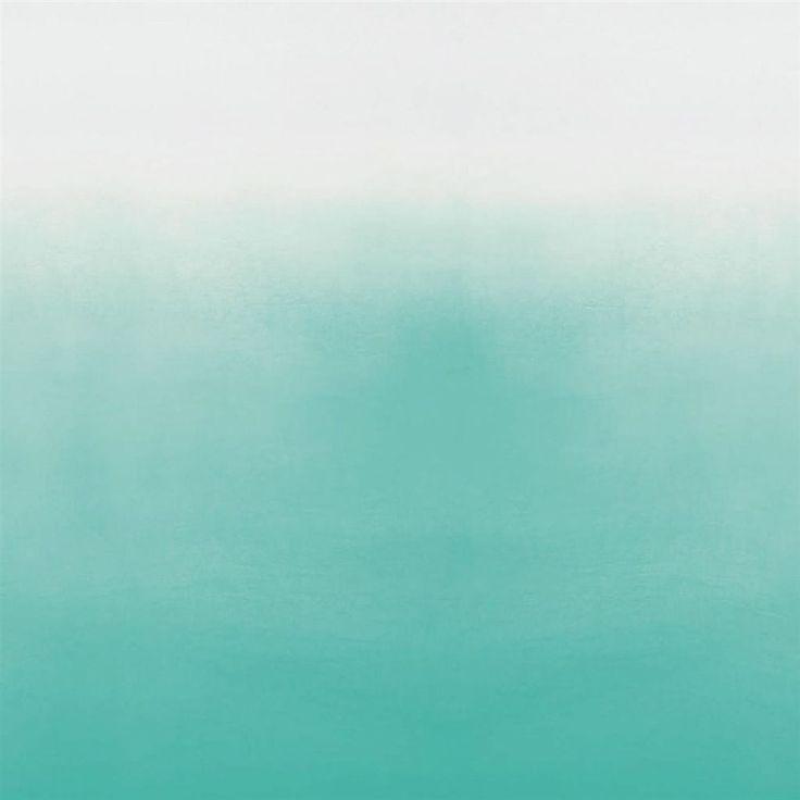 saraille - aqua wallpaper   Designers Guild