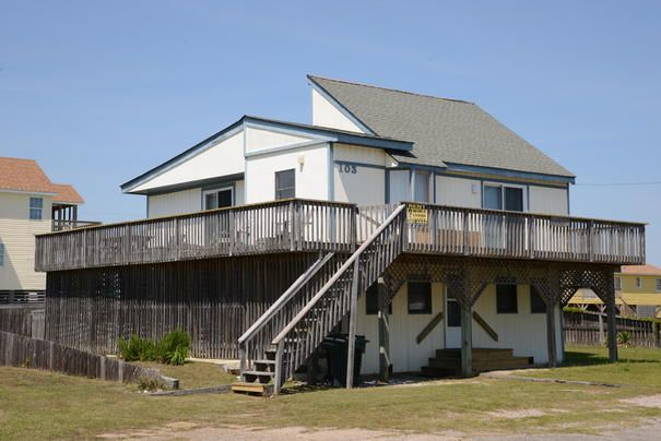 Milepost 14.5 - Semi-Oceanfront **Close to Us** Available Sunday 8/31-9/7 3 bedrooms  $695 Nags Head Vacation Rental: Bored of Education 216   Pet Friendly Outer Banks Rentals