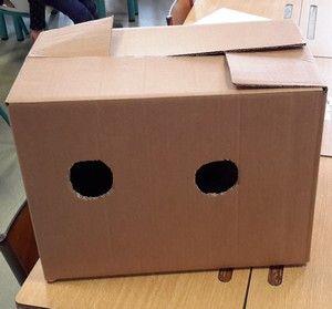 avec les TPS, la boîte à toucher - la maternelle de Camille
