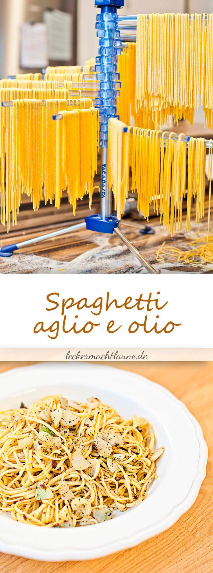 Hausgemachte Spaghetti aglio e olio {lieblingsessen}