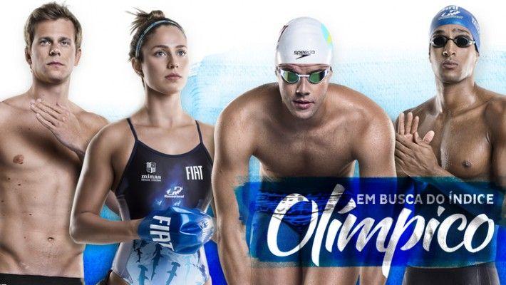 Nadadores do Minas buscam índices na primeira seletiva olímpica para a Rio 2016