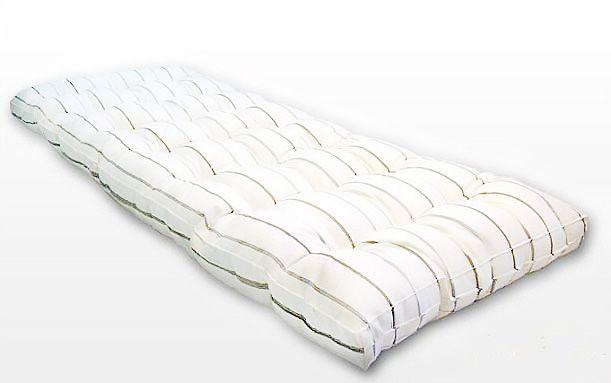 Наполнитель матраса: 100% натуральный хлопок. Используемая ткань: матрацный тик (долгий срок службы). Толщина: 12 см. Можно изготовить матрас на заказ любого размера и плотности.