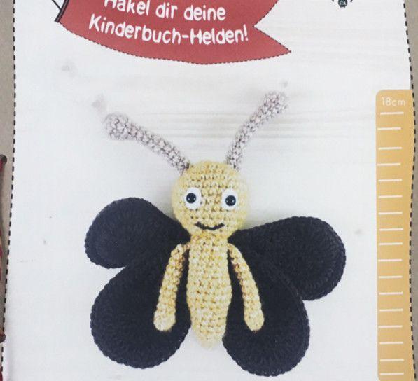 Häkelanleitungen - Kinderbuchheld Motte von YoYo und Motte - ein Designerstück von mahepu bei DaWanda