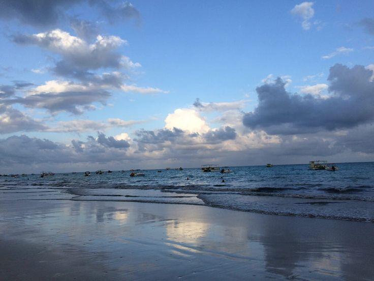 Praia linda de Itamaracá - PE
