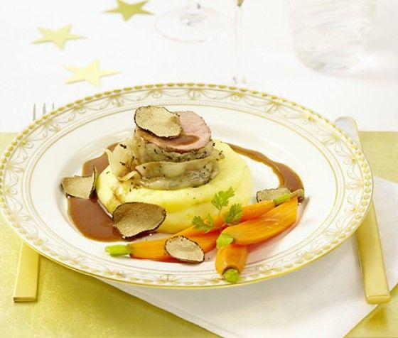 Kartoffelpüree mit gehobelter Trüffel - Rezepte für Kartoffelpüree - Seite 22 - [ESSEN & TRINKEN]