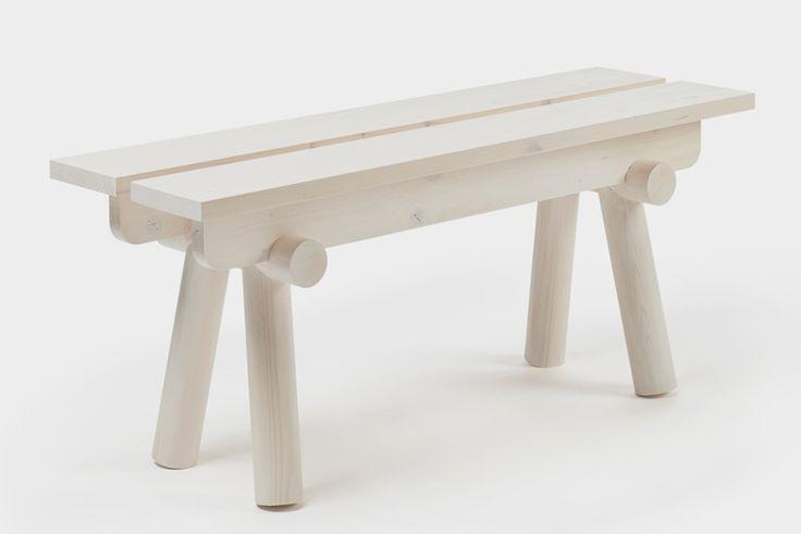 tomas kral krehky torii seats bench stool designblok 2015 designboom