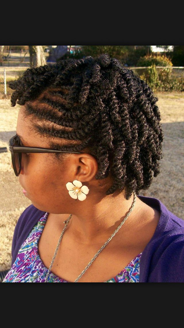 flat twist hair style she used flat twists to create fabulous summer curls on 9548