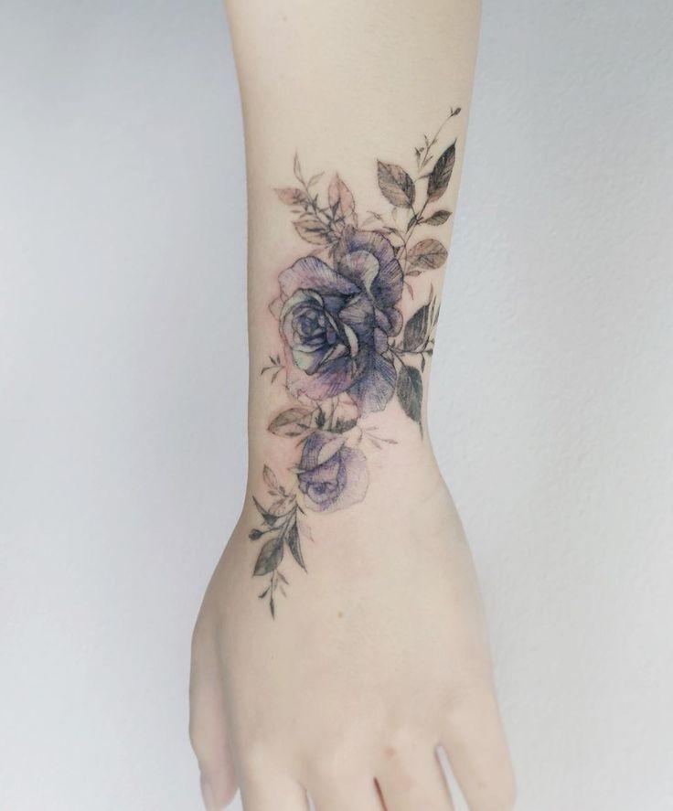 coole Blume # Rose # Rosetattoo # Roseflower # Tattoo # Blume # Flowerart # Flowertattoo # K … #tattootatuagem – tattoos.