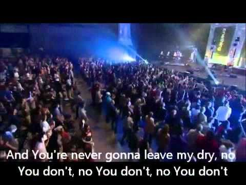 Cory Asbury - Never Gonna Leave Me Dry. On fire for you, Jesus, after a great night of worship at church last night! The perfect song to crank up on repeat while I mop this morning :-)