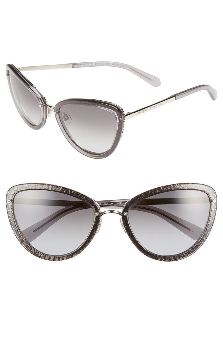 Glitter rimmed kate spade sunglasses