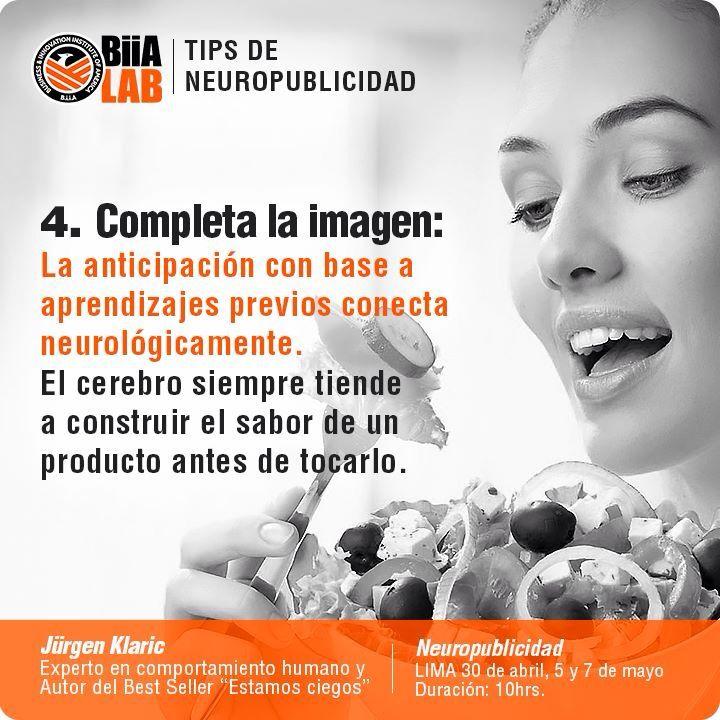 Cuarto #Tips de #Neuropublicidad. #Neuromarketing