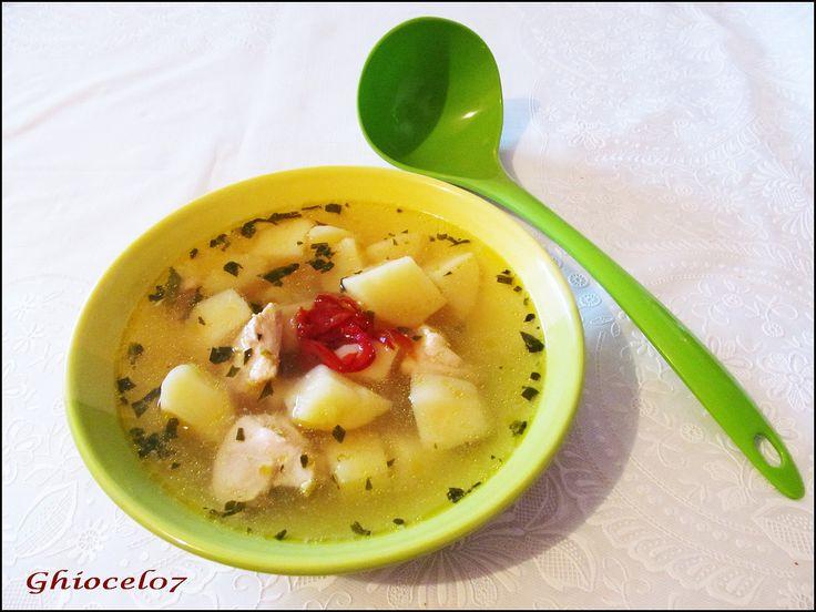 Supă de cartofi cu tarhon