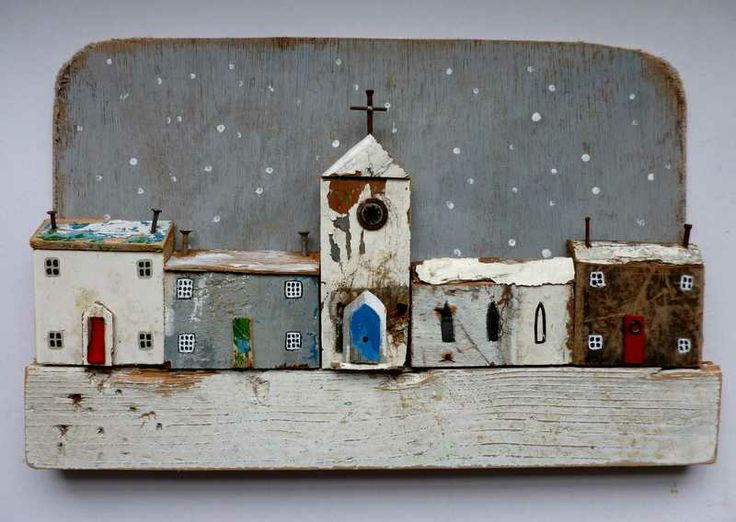 Christmas card falling snow   -   Kirsty Elson Designs