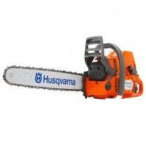 "Husqvarna 576XPG 18"" professional petrol chain saw with heated handle"