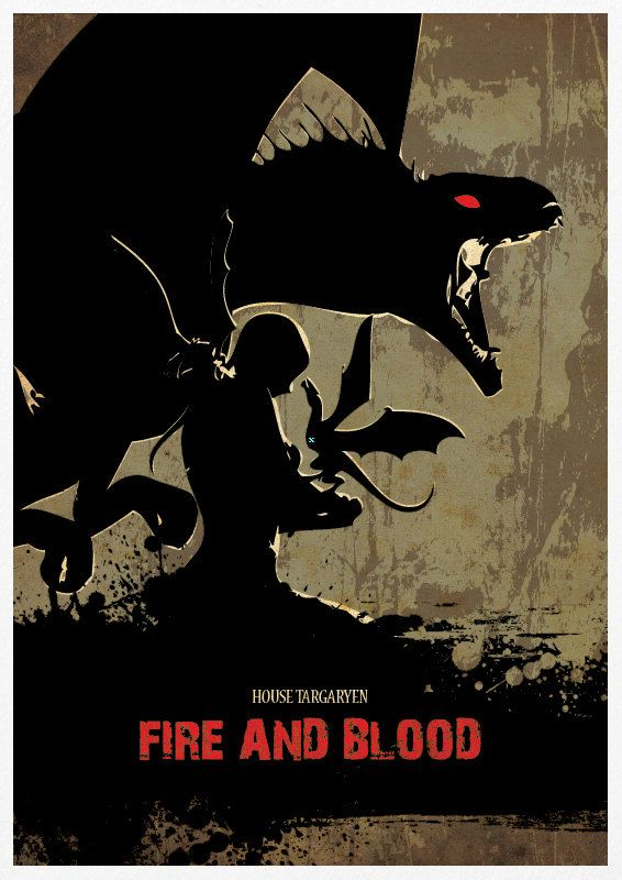game of thrones fire and blood font