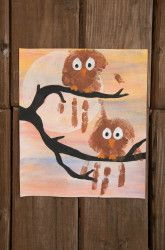 Second Grade Fall Activities: Owl Painting SO cute!!