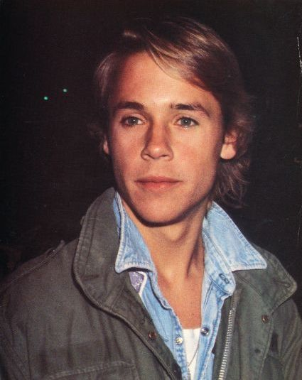 CHAD LOWE - My biggest, biggest 80s crush ever!!!!  In my senior year I actually met him at the Rose Bowl.  Chad Lowe, Rob Lowe, and Charlie Sheen were sitting a couple rows behind me.  Chad was soooo sweet . . . Rob was soooo stuck up  . . . and Charlie Sheen wasn't even heard of at the time!