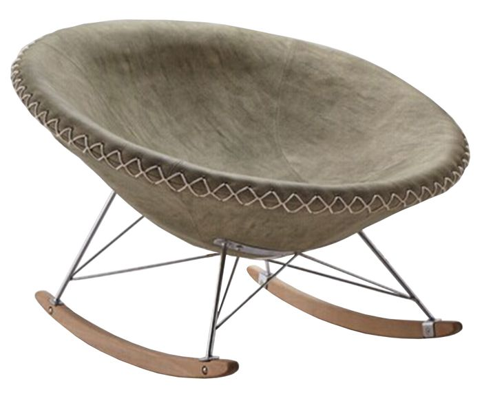 Fotel bujany Square 106x110x76cm
