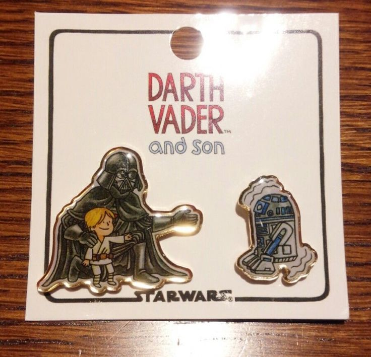Star Wars Darth Vader and Son Pins from Japan R2-D2 | Collectibles, Science Fiction & Horror, Star Wars | eBay!
