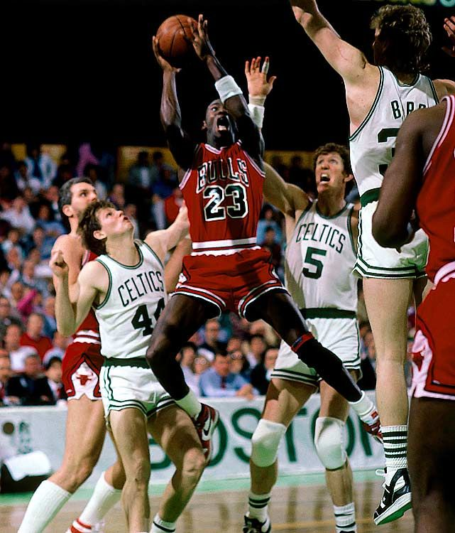 1986 Celtics Game 2 - 63 points G.O.A.T.