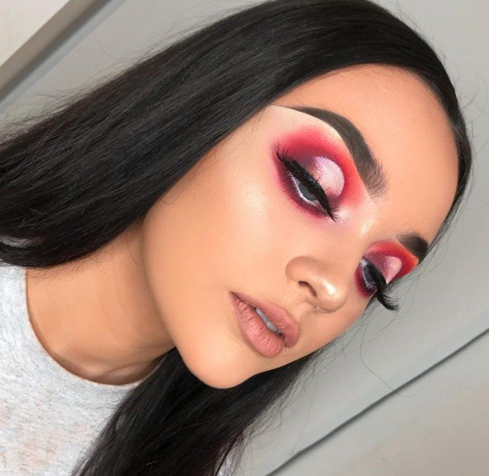 17 Valentines Day Makeup Look Ideas