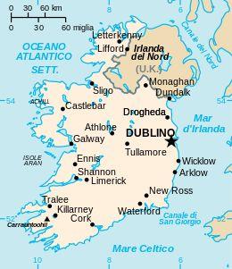 Irlanda - Mappa