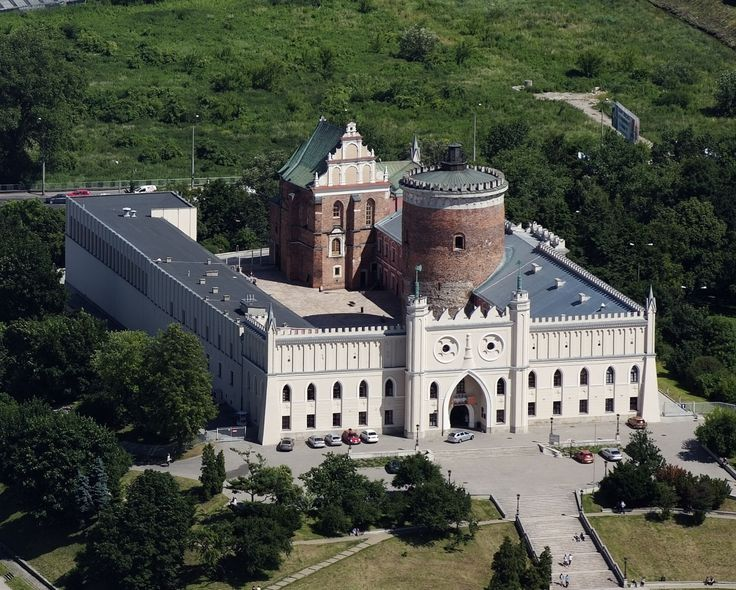 Lublin Castle, east of Poland