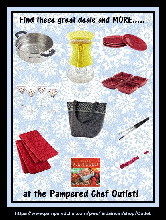 The Pampered Chef Outlet is where you'll find the latest markdowns on cook's tools, pantry essentials, kitchen accessories, and more!