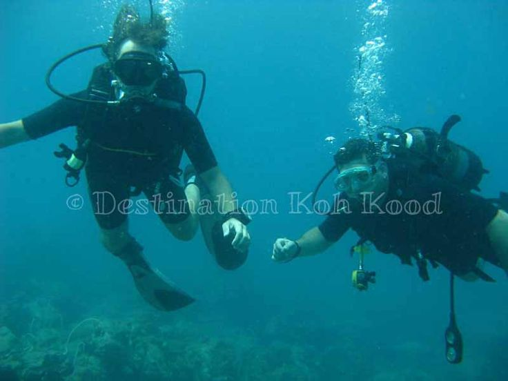 Always together with Paradise Divers @ Koh Kood (Thailand)