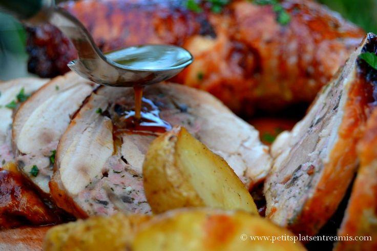 Sauce sur cuisse de dinde farcie les recettes de petits for Petit plat entre amis
