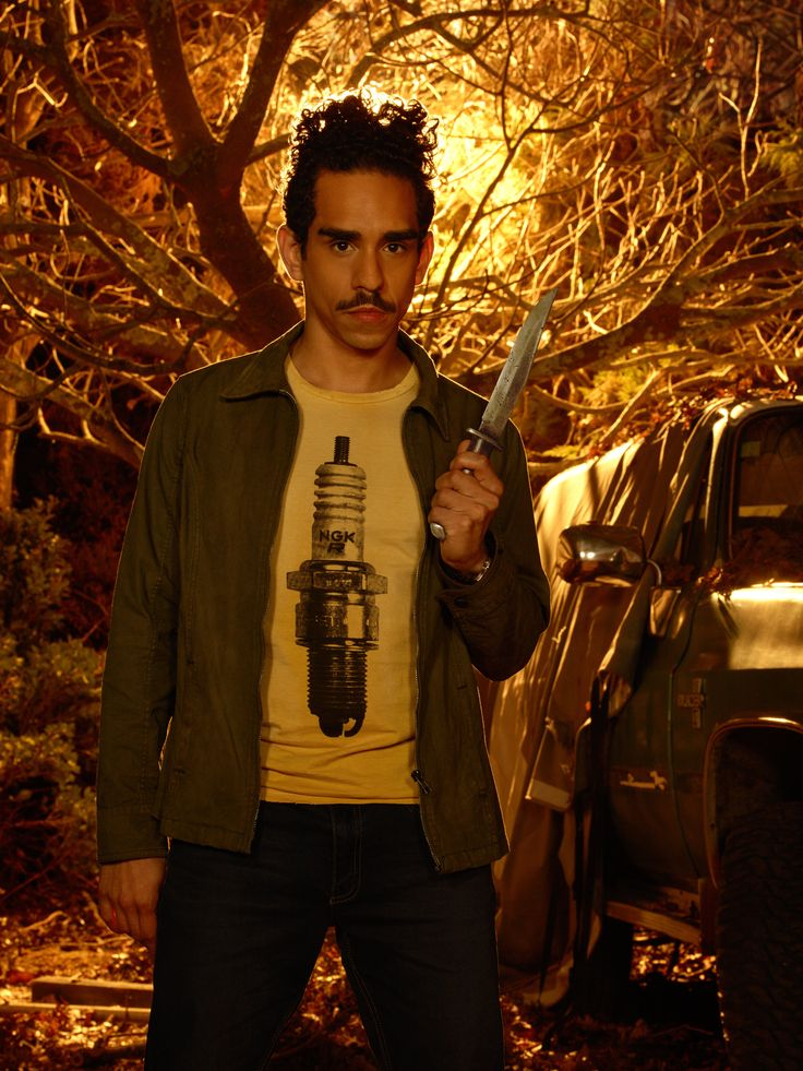 "Ash vs. Evil Dead S1 Ray Santiago as ""Pablo Simon Bolivar"""