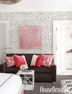 Pink Bedroom - Girls Bedroom Decor: Houses Beautiful, Dreams Houses, Living Rooms, Bedrooms Design, Girls Bedrooms, Interiors Design, Pink Bedrooms, Teen Girls, Girls Rooms