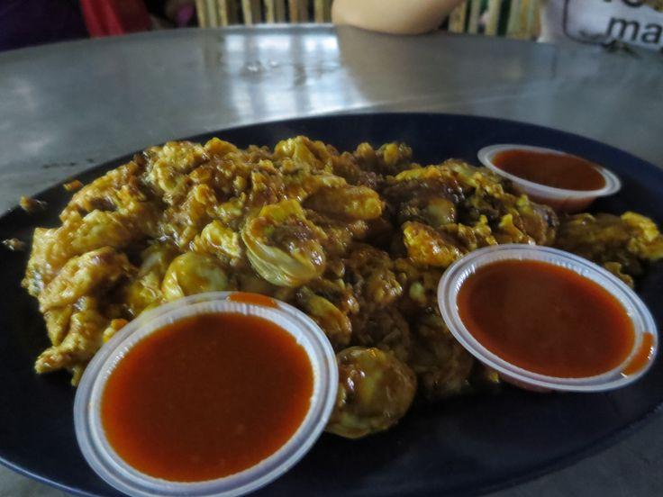 Oyster Egg @ Jalan Presgrave, Penang - in the corner coffee shop