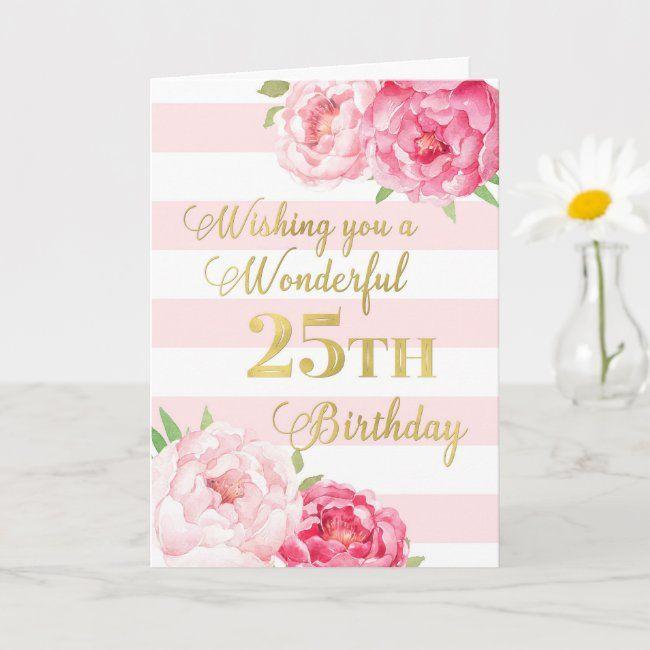Happy birthday card Sister Friend, Auntie Pink Floral Birthday Card Mum