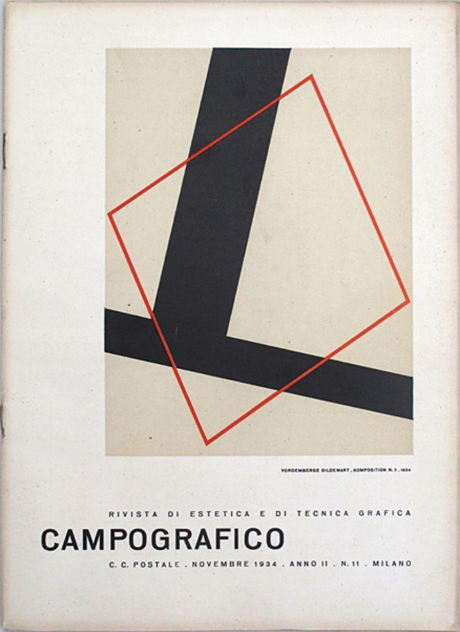 Campo Grafico Nº.11 - Friedrich Vordemberge-Gildewart, November 1934
