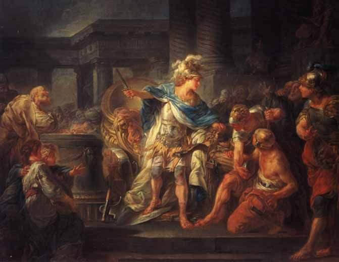 The Gordian Knot is a legend of Phrygian Gordium associated with Alexander the Great.