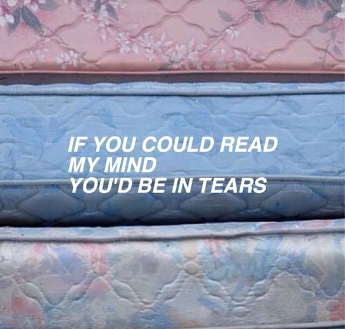 Imagem de quote, tears, and grunge