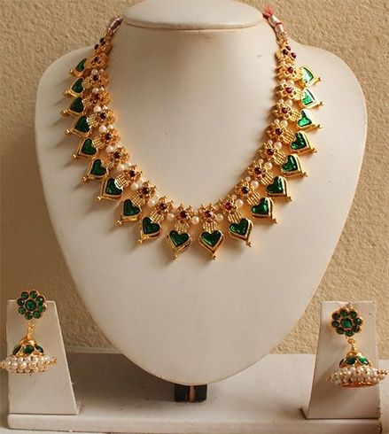 Traditional Kerala Jewellery Designs For Malayali Manga