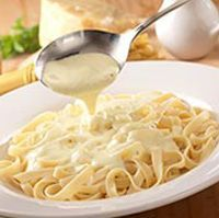 Here is the recipe for Olive Garden Alfredo sauce! So good! The recipe is directly from the restaurant's site!