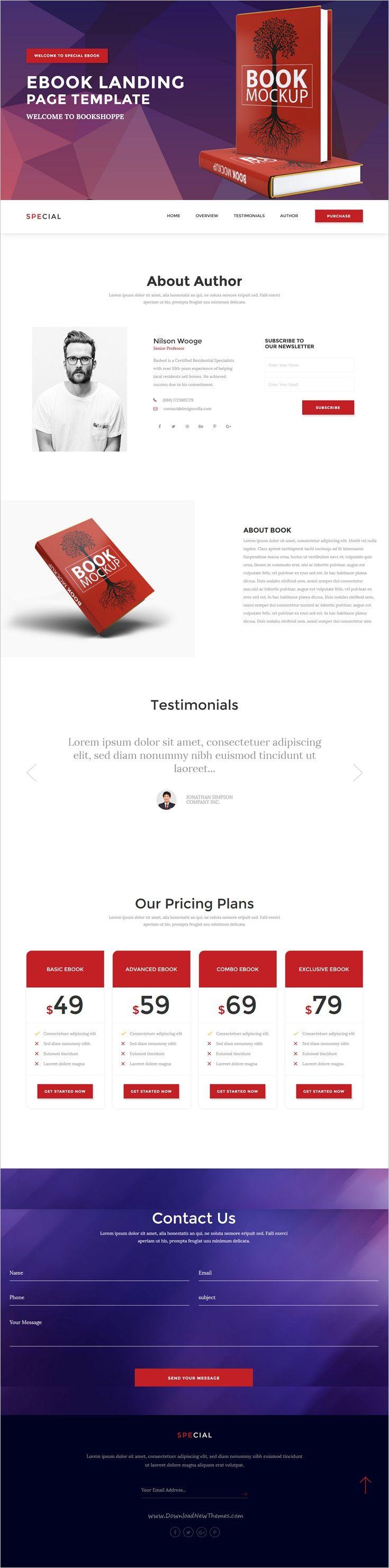 ebook html template