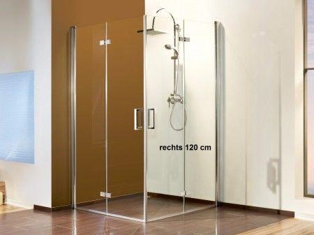 Dusche Eckeinstieg 120x100 Duschkabine Eckeinstieg