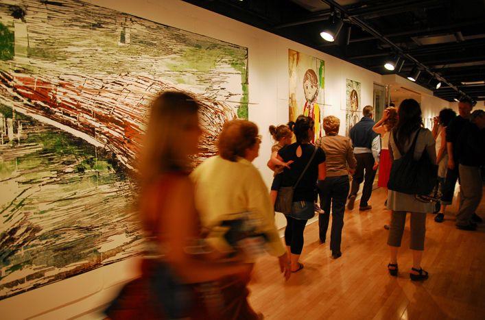 Biennale internationale d'estampe contemporaine http://www.biectr.ca/ #biennale #estampe