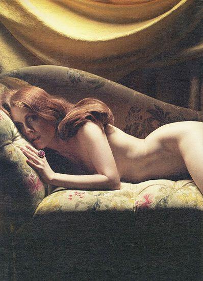 Celebrities Strip Down For W - julianne moore nude