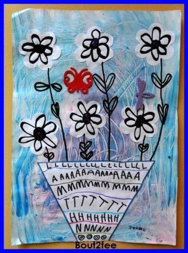 Vases fleuris - Les petits bout 2 fee
