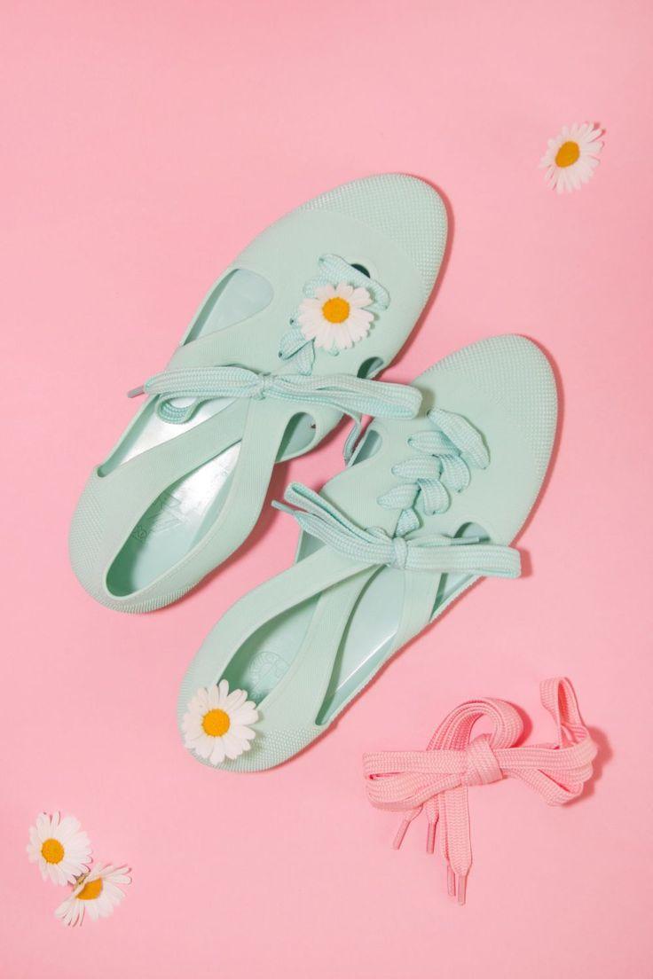 F-troupe Bathin Shoes Mint  fot. Oliwia Cabaj