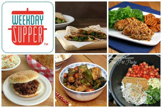 Easy Comfort Food - #WeekdaySupper Menu (1/13-1/17)