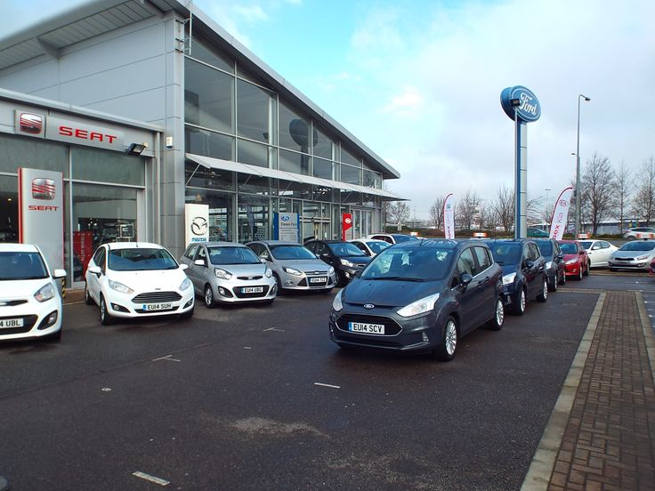 Your new 14 plate cars are lined up and ready to roll outside our Lakeside showroom!